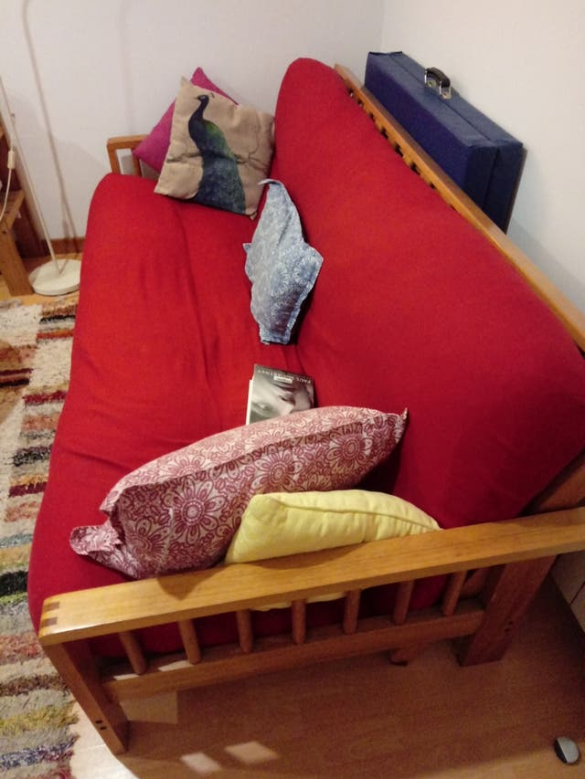 Futon sofà llit