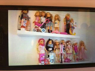 Muñecas Nancy y Ropero