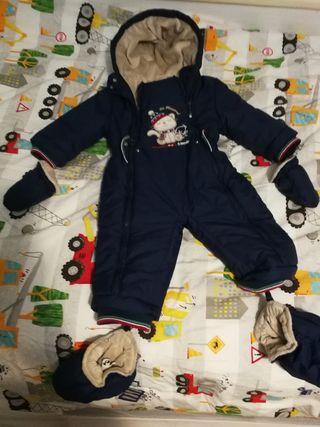 Buzo de bebé para invierno