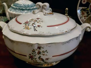 Sopera francesa porcelana