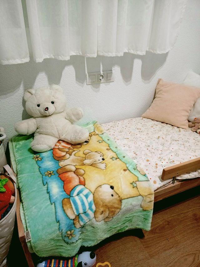 manta polar bebé