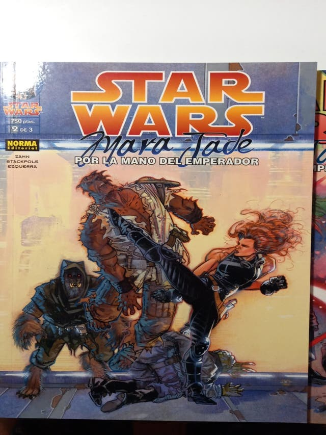 Star Wars Mara Jade Comics y comic TOR