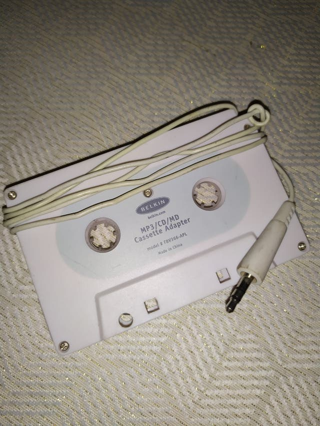 Adaptador cassette cotxe