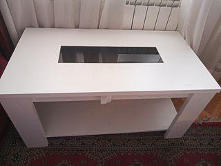 mesa blanca elevable