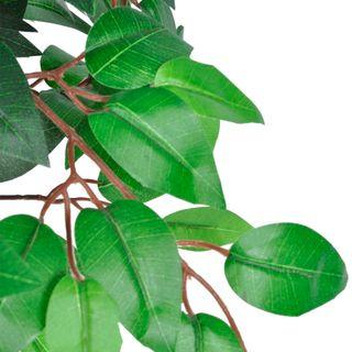 Árbol/ Planta de ficus artificial en maceta, 110 c