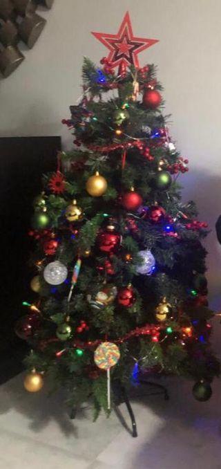 Arbol de navidad ( sin adornos )