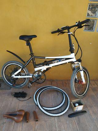bicicleta eléctrica plegable cityboard