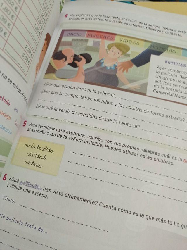 Libro refuerzo 4°de primaria para vacaciones