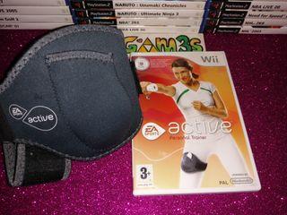 Active Personal Trainer + Soporte Nintendo Wii