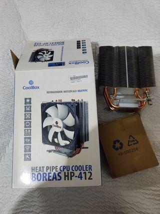 Ventilador Disipador CPU Coolbox