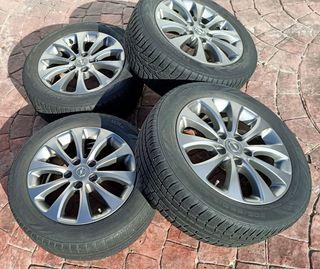 """Llantas aleación Opel 16"""". Neumáticos de nieve."""