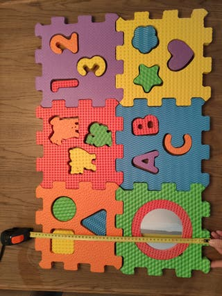 Alfombra Puzzle Goma Eva
