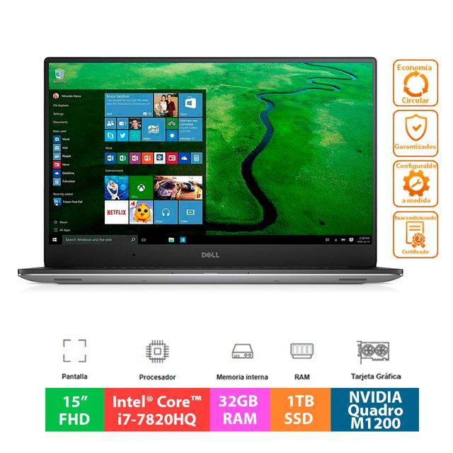 Dell Precision 5520 - i7 - 32GB - 1TB SSD - M1200