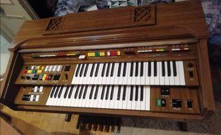 Piano órgano doble