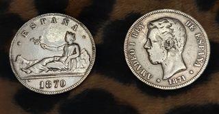 Monedas y bilbilletes Antiguos