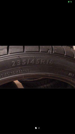 """Neumáticos 18"""" nuevos precio unidad"""