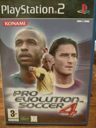 PES 4 Pro Evolution Soccer
