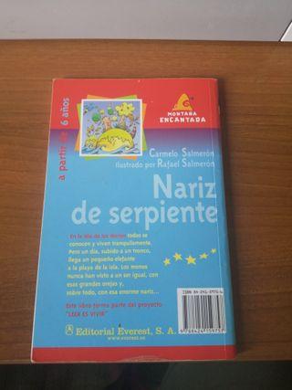 Libro Nariz de serpiente (editorial everest)
