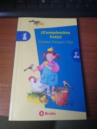 Libro feliz cumpleaños (editorial bruño)