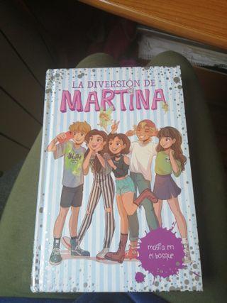 Libro magia en el bosque 6. Martina