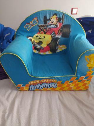 sillón de niño