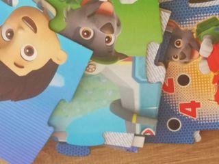 puzzle alfombra patrulla canina