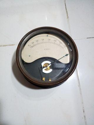 Amperimetro industrial antiguo