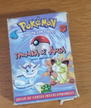 cartas Pokemon sin utilizar