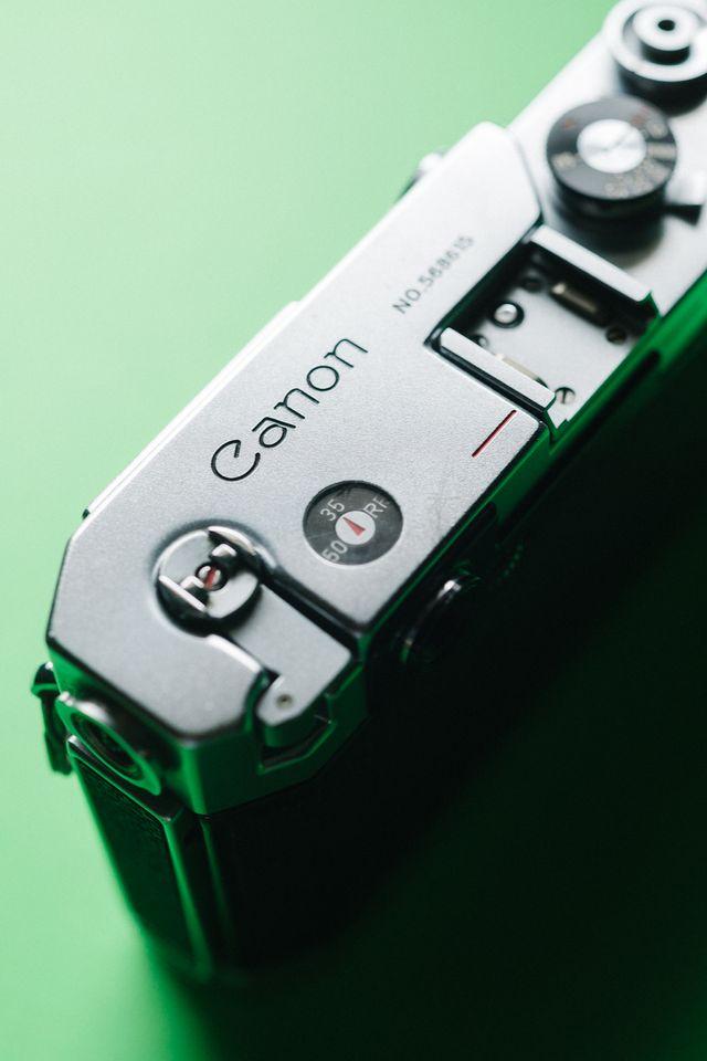 Canon VT de luxe telemétrica M39