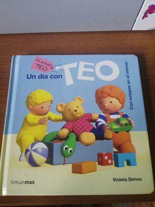 Libro mi primer Teo. Un día con Teo.