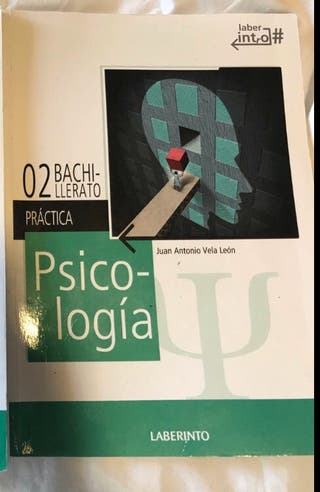 Libro Psicología Segundo Bachillerato