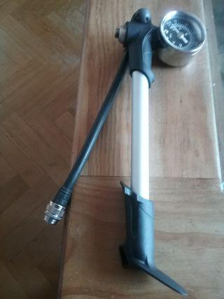 Bomba/Inflador horquilla/amortiguador MTB