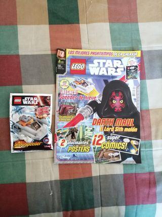 Revistas de lego Star Wars