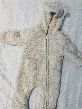 Buzo bebe polar efecto ovejita