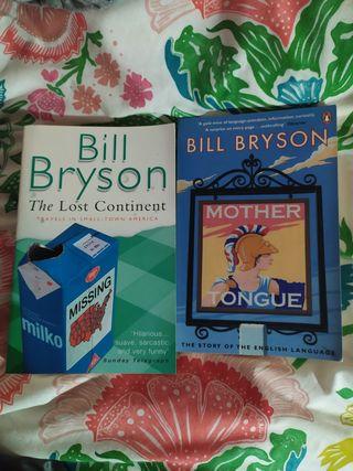 Libros de Bill Bryson en inglés