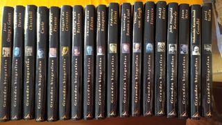 18 libros de biografías