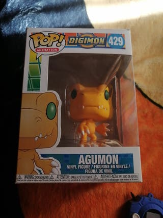 Digimon agumon figura pop