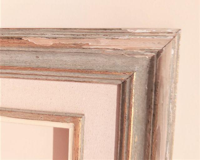 Antiguo marco para espejo/cuadro/fotos 67,5 x 59cm