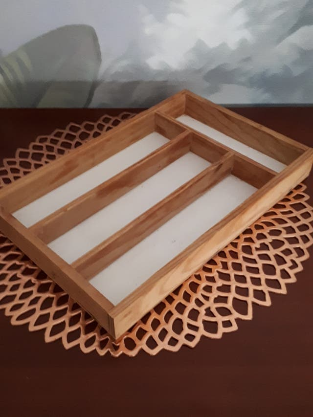 Cubertero madera