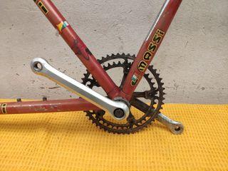 Cuadro de bicicleta massi restauración clásica