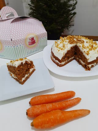 tartas de zanahoria caseras