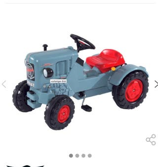Tractor a pedales