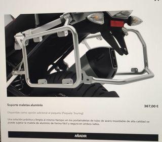 bmw r1250gs soportes maletas laterales metálicas
