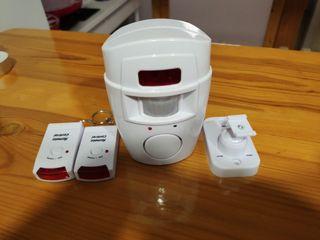 alarma sensor con mando