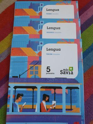 Libro de texto SM Lengua 5 Primaria