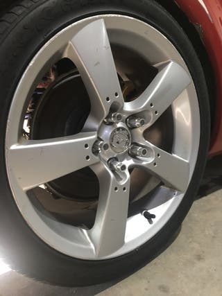 Llantas rx8 con neumáticos 5x114