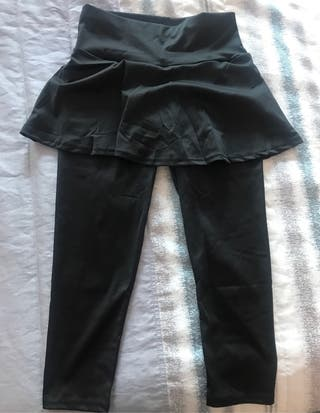 Falda de padel con mallas. T mediana