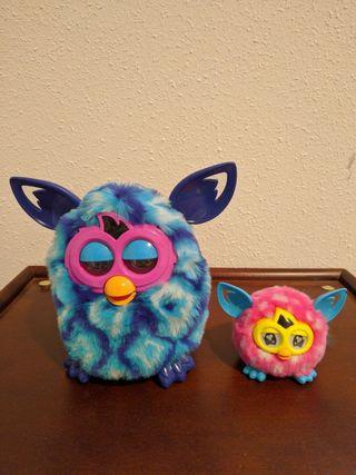 Furby Boom azul, morado (regalo Furby pequeño)