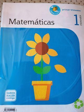 libros matemáticas primero primaria