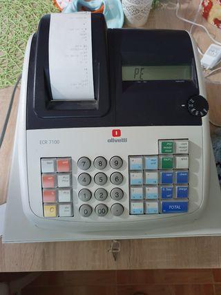 máquina registradora para piezas